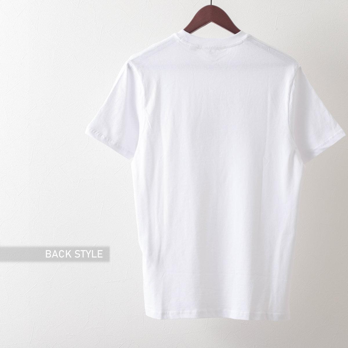 Ben Sherman ベンシャーマン メンズ Tシャツ バナナスプリットプリント 2色 マリン ホワイト オーガニックコットン レギュラーフィット