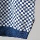 メルクロンドン メンズ ポロシャツ ポロ チェッカー ロイヤルブルー Merc London モッズファッション