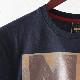 メルクロンドン メンズ Tシャツ アルバムカバー Merc London 19SS 2色 ネイビー ホワイト W1 プレミアム