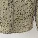 Ben Sherman ベンシャーマン メンズ 長袖シャツ ドットプリント 2色 アイボリー オリーブ レギュラーフィット