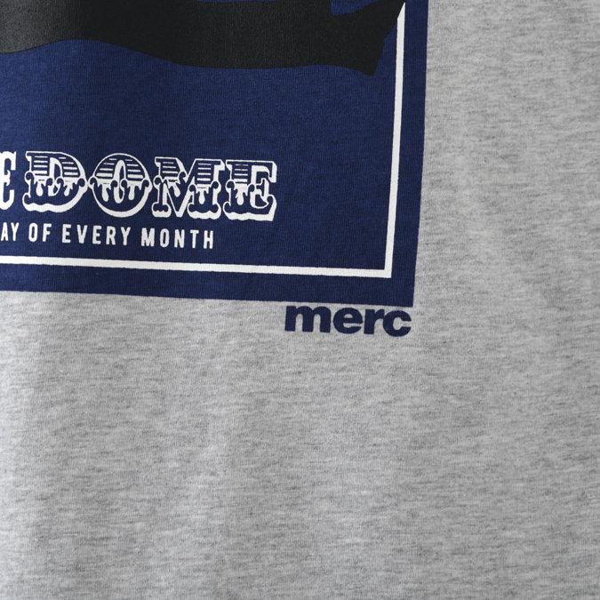 Tシャツ レトロ ソウル グラフィック 2色 スレートブルー ライトグレーマール メンズ Merc London メルクロンドン
