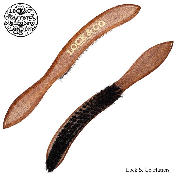 James Lock ジェームスロック Lock & Co ハットブラシ ハード 硬め 帽子ブラシ 英国王室御用達