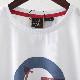 メルクロンドン メンズ Tシャツ ターゲットマーク スクーター ベスパ VESPA Merc London 2色 ボーイブルー ホワイト レトロ