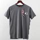 メルクロンドン メンズ Tシャツ Merc London バッジ グラフィック 19SS 2色 チャコール ネイビー