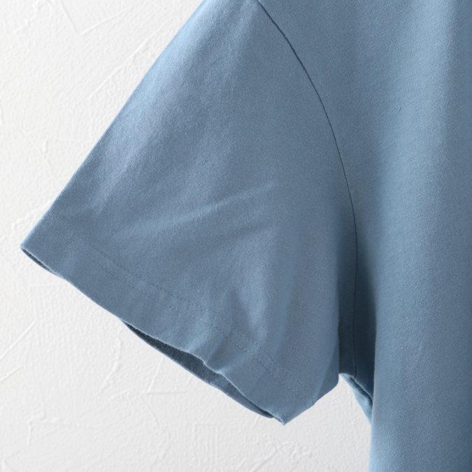 メルクロンドン メンズ Tシャツ Merc London ヘルメット グラフィック 19SS 2色 クリーム ヴィンテージブルー