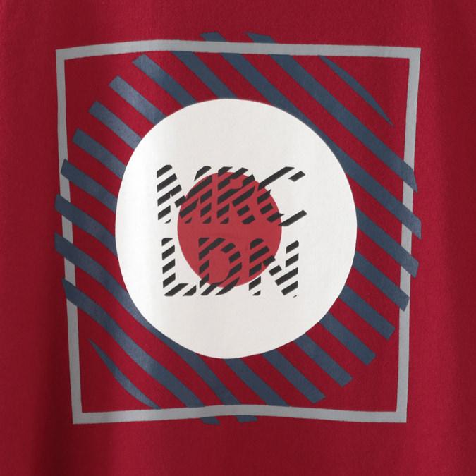 メルクロンドン メンズ Tシャツ Merc London ターゲットマーク グラフィック 19SS 2色 ディープレッド ネイビー