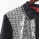メルクロンドン メンズ ポロシャツ ポロ ドッグトゥース 千鳥格子 ブラック Merc London モッズファッション