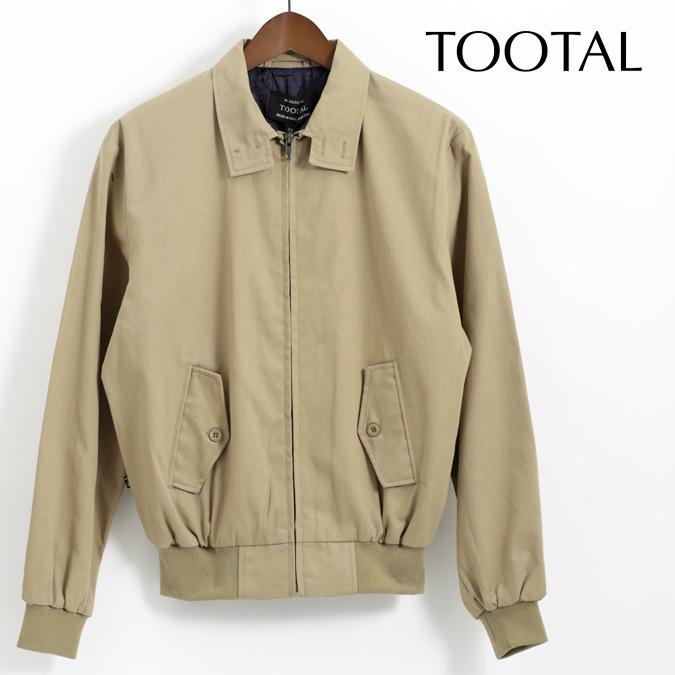 Tootal Vintage トゥータル ヴィンテージ ハリントン ジャケット ベージュ 18SS メンズ
