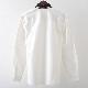 フレッドペリー メンズ 長袖シャツ Fred Perry フラット ニット カラー 襟ニット 2色 ブラック スノーホワイト プレッピー 正規販売店