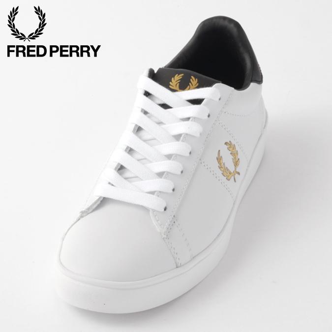 フレッドペリー メンズ スニーカー レザー シューズ スペンサー Fred Perry ホワイト ユニセックス 男女兼用 レディース ギフト 正規販売店