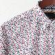 メルクロンドン メンズ 花柄シャツ フラワー Merc London 長袖シャツ W1 プレミアム 2色 ブラック ホワイト モッズファッション