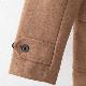 メルクロンドン メンズ ダッフルコート ウール Merc London 2019 ダークネイビー タン Coat コート モッズファッション