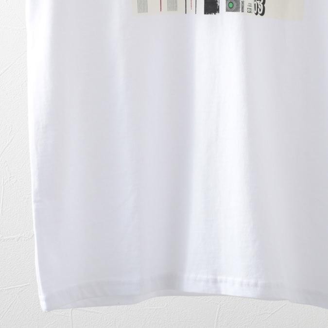 ベンシャーマン メンズ Tシャツ カセット インレイ Ben Sherman 2色 ライトインディゴ ホワイト レギュラーフィット