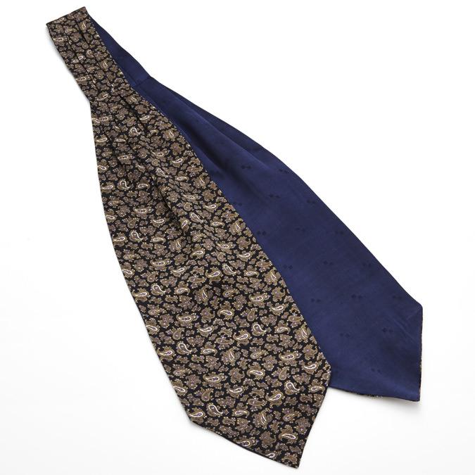 Tootal Vintage Crabat シルク クラバット スカーフ ストール ペイズリー ネイビー