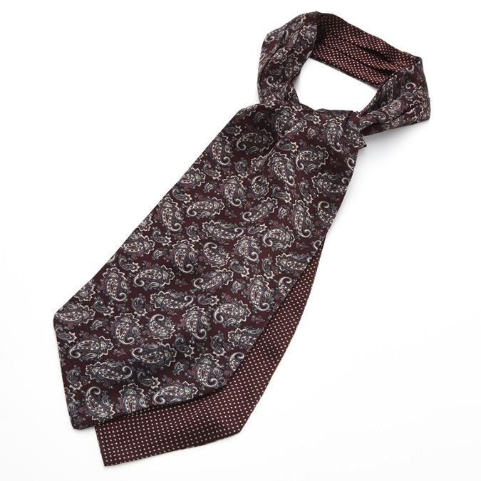 Tootal Vintage Crabat シルク クラバット スカーフ ストール ペイズリー バーガンディー