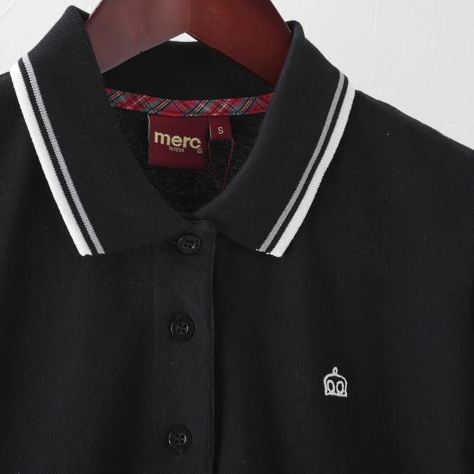 ワンピース ワンピ ドレス ネイビー ブラック レディース Merc London メルクロンドン