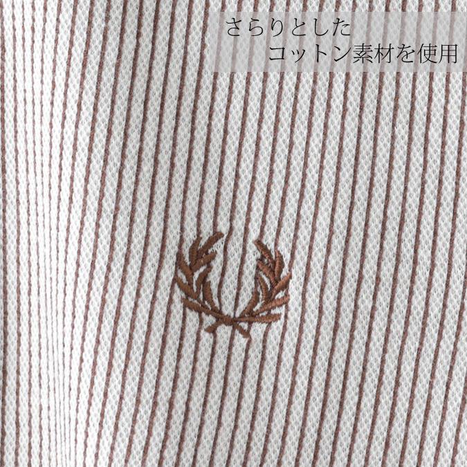 フレッドペリー メンズ ポロシャツ ポロ Fred Perry ストライプ バーティカル テニス リイシュー アーバン 正規販売店