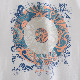 ベンシャーマン メンズ Tシャツ ターゲットマーク フラワー Ben Sherman ホワイト レギュラーフィット