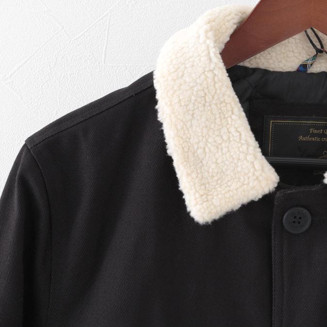 メルクロンドン メンズ ジャケット ボア Merc London 20SS ブラック Jacket ジャケット