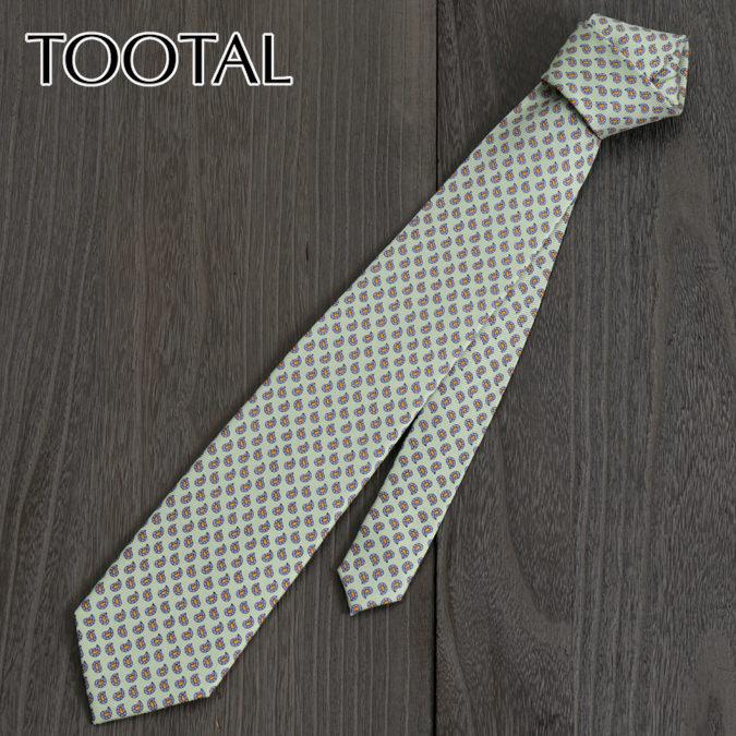 Tootal Vintage トゥータル ヴィンテージ 英国ブランド タイニー ネクタイ グリーン