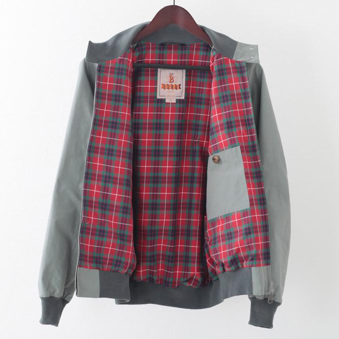 バラクータ G9 オリジナル ハリントンジャケット セージ 英国製 メンズ リブ スイングトップ ブルゾン 上着