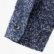 英国老舗ブランド 日本縫製 メンズ 長袖シャツ ボタニカルプリント ネイビー UKデザイン プレミアムコットン カジュアル ピーターイングランド