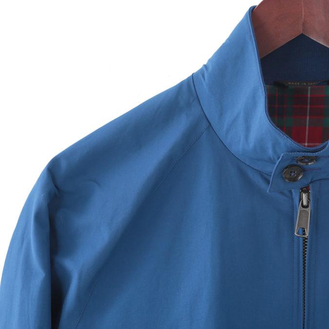 バラクータ G9 オリジナル ハリントンジャケット オーシャンブルー 英国製 メンズ リブ スイングトップ ブルゾン 上着
