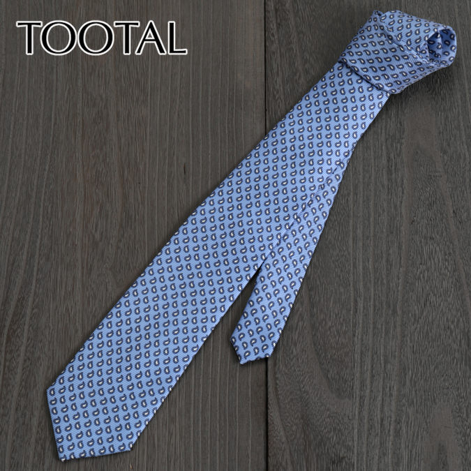 Tootal Vintage トゥータル ヴィンテージ 英国ブランド タイニー ネクタイ スカイ