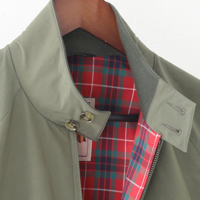 バラクータ G9 オリジナル ハリントンジャケット アーミー 英国製 メンズ リブ スイングトップ ブルゾン 上着