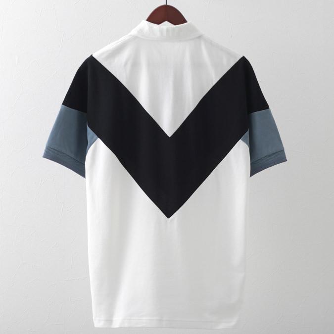 フレッドペリー ポロシャツ シェブロン ブルースレート リラックスフィット メンズ Fred Perry 正規販売店