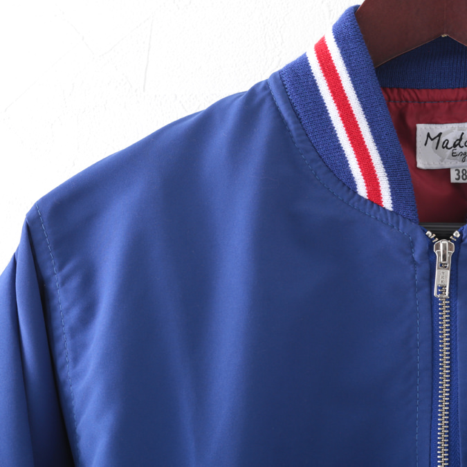 Madcap England メンズ モンキージャケット MA-1 マッドキャップ 2色 ロイヤルブルー ブラック ボマー ボンバー
