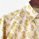 Madcap England メンズ 長袖シャツ シーホース 19SS ゴールド レトロ マッドキャップ