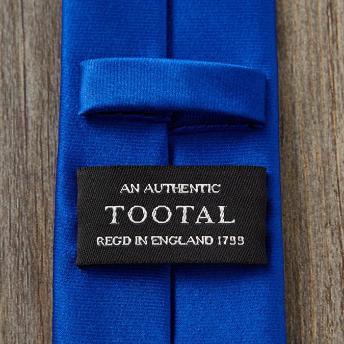 Tootal Vintage トゥータル ヴィンテージ シルクネクタイ プレーン ブルー
