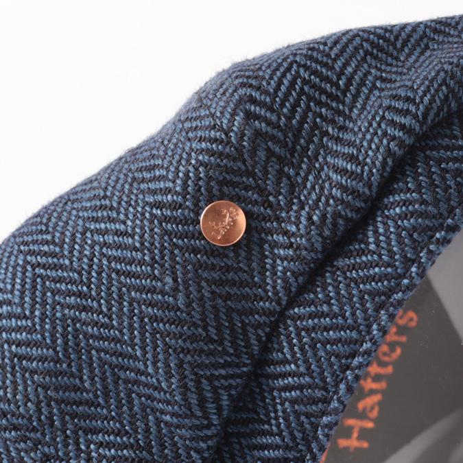 Laird Hatters メンズ キャスケット 英国製 オールシーズン ハンチング アイリッシュリネン ブルックリン ヘリンボーン レアードハッター 帽子 イギリス製