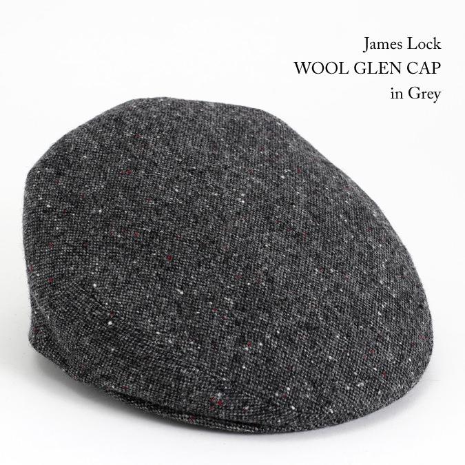 James Lock ジェームスロック ハンチング WOOL GLEN グレン ツイード グレー