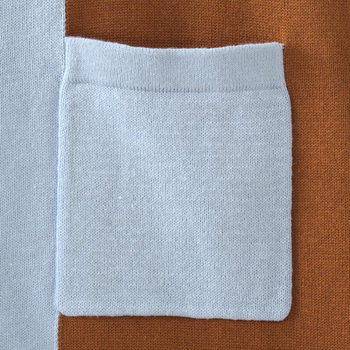 メルクロンドン メンズ ポロシャツ ポロ ニット 切替 Merc London 2色 ダークブルー スカイ モッズファッション