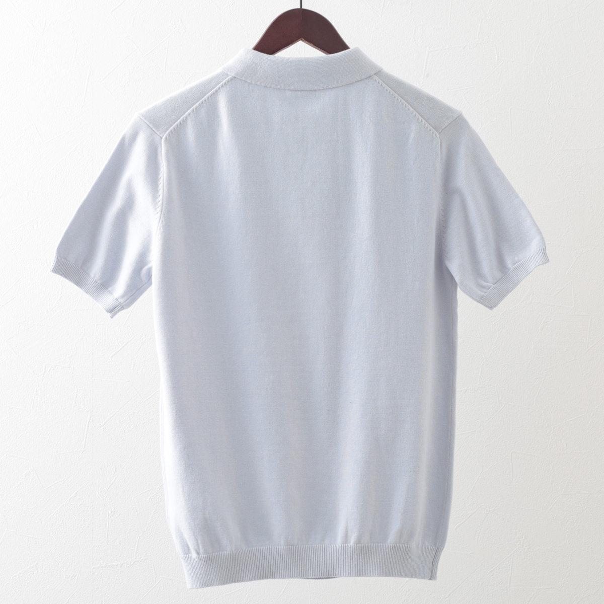 メルクロンドン メンズ ポロシャツ ポロ ニット ダイヤモンド Merc London 2色 ボーイブルー ダークスレート プレッピー モッズファッション