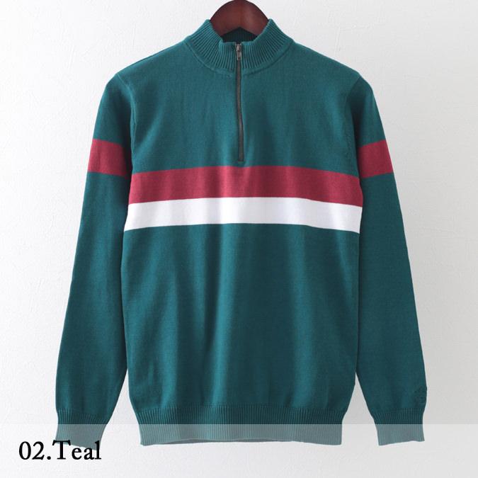 Madcap England メンズ セーター サイクリング トップ 2色 ブルー ティール マッドキャップ イングランド ヴェロチタ