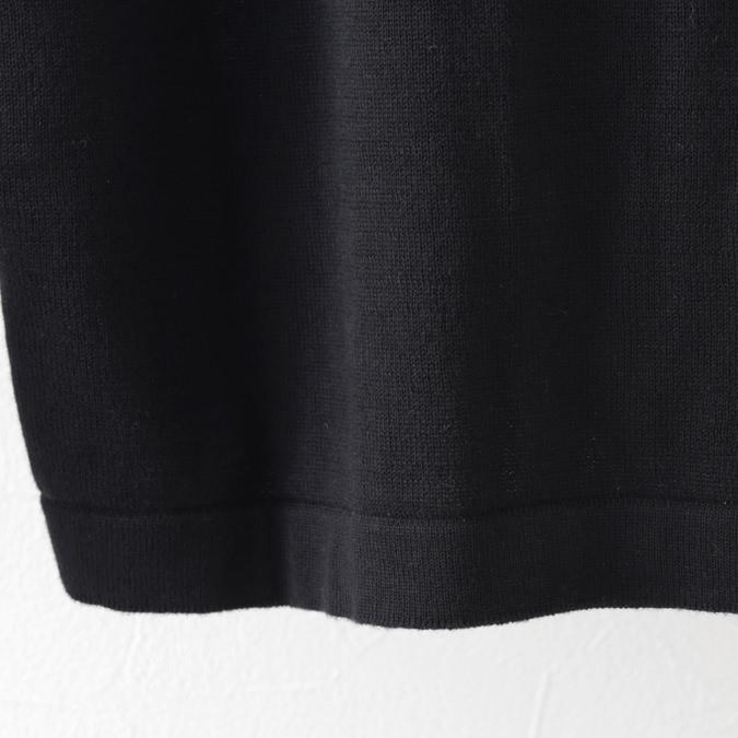 Madcap England メンズ カーディガン ニット レトロ ファンネルネック 2色 ブラック マルーン マッドキャップ イングランド