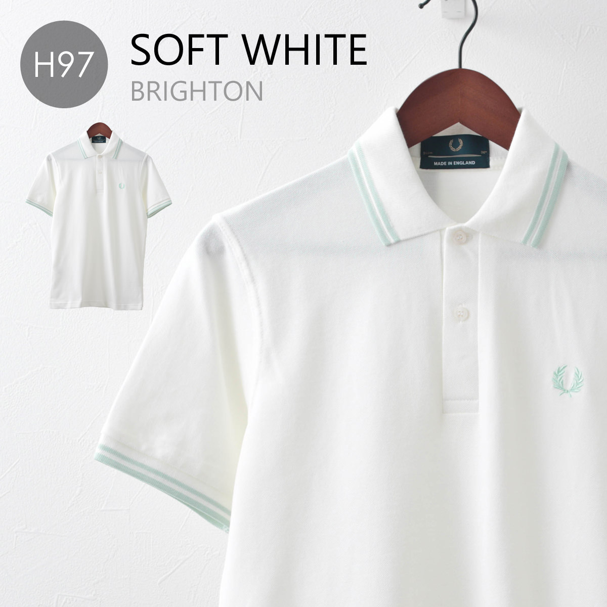 Fred Perry フレッドペリー メンズ ポロシャツ M12 新色 20色 メンズ MADE IN ENGLAND 正規販売店