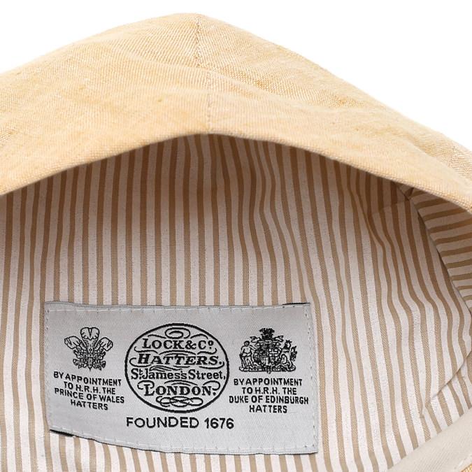 James Lock ジェームスロック Lock & Co リネンキャップ ハンチング 麻 リネン 帽子 ベージュ