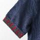 メルクロンドン メンズ ポロシャツ ポロ ストライプカラー Merc London W1 プレミアム 19SS  ネイビー