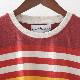 Madcap England Tシャツ ストライプ Seventies Style マッドキャップ 2色 バーントルセット ナゲット メンズ