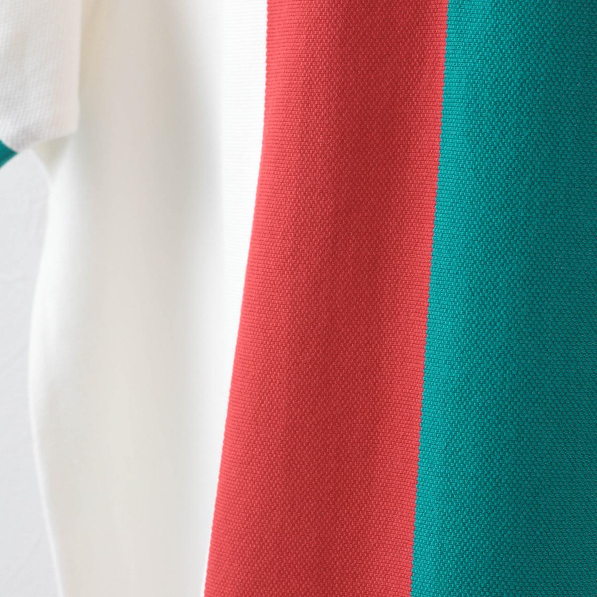 Fred Perry フレッドペリー メンズ ファネルネック ポロシャツ 半袖 コットン ジップ ハイネック ストライプ ホワイト プレッピー 正規販売店