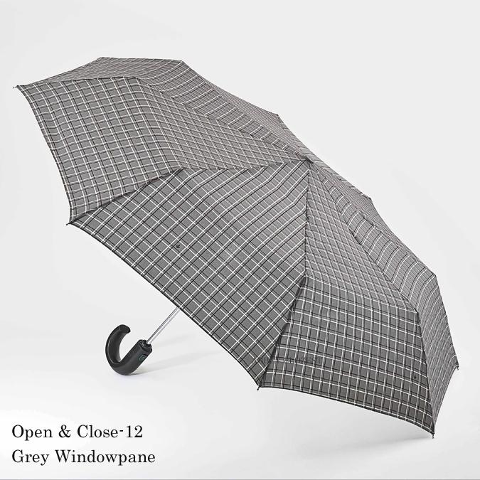 FULTON フルトン 傘 メンズ FULTON Open & Close 12 紳士用 折りたたみ傘 ワンタッチ ジャンプ傘 英国王室御用達