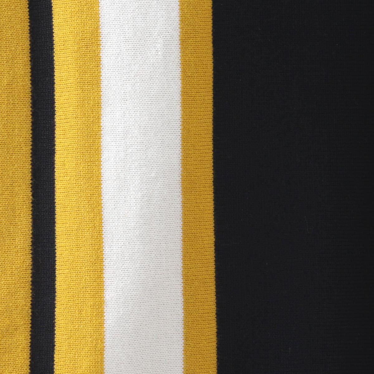 マッドキャップ メンズ ポロシャツ ニット ポロ ストライプ 2色 イエロー ブルー Madcap England