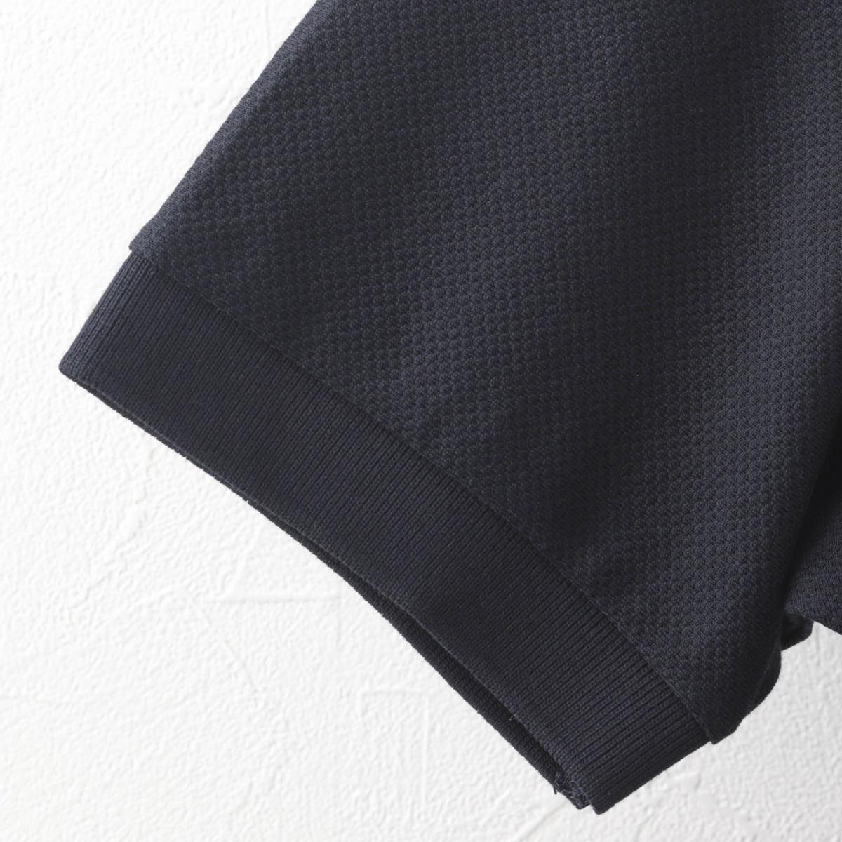 Fred Perry フレッドペリー メンズ ピケ ポロシャツ 半袖 コットン ネイビー ストライプ 異素材MIX プレッピー 正規販売店