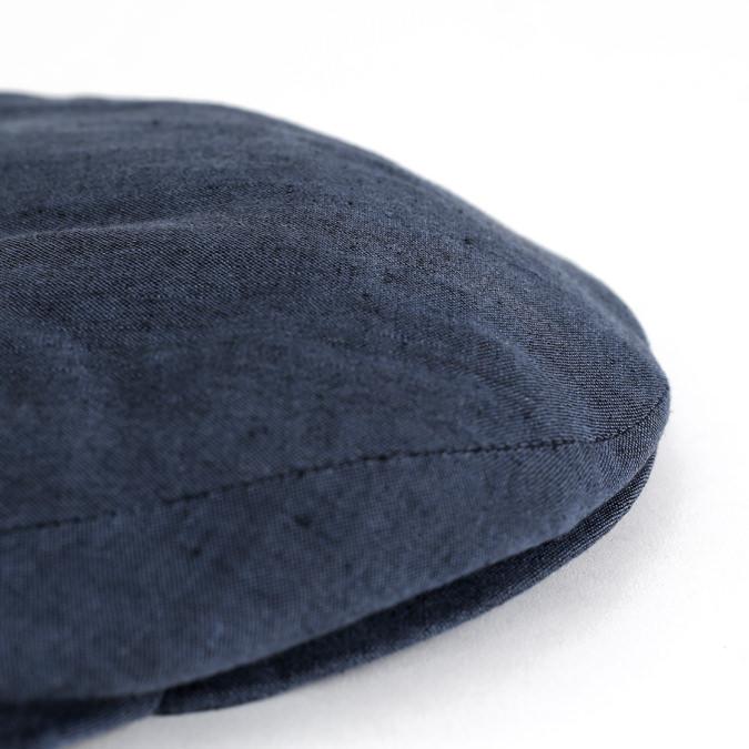 James Lock ジェームスロック Lock & Co リネンキャップ ハンチング 麻 リネン 帽子 ネイビー