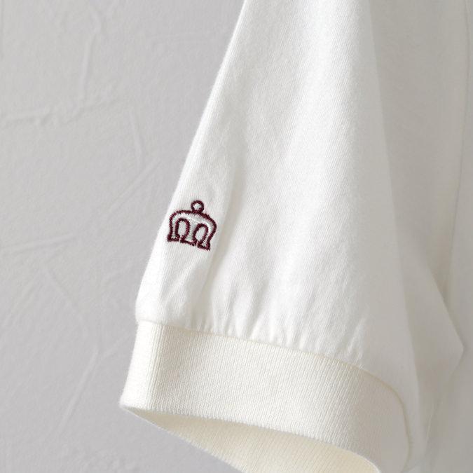 ポロシャツ リーフプリント オフホワイト メンズ Merc London メルクロンドン