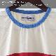 Madcap England Tシャツ チェスト ストライプ White マッドキャップ メンズ